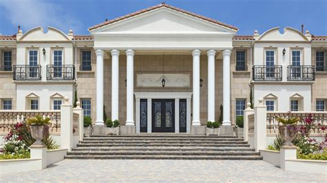 neoclassical home home of the day neoclassical over zuma beach la times