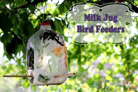 milk jug bird feeder urbanmoms