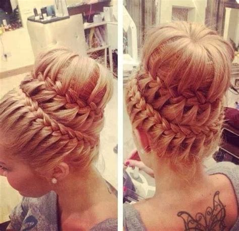 put your hair in a bun with braids really beautiful and elegant hairstyles trusper