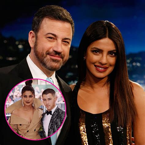 Nick Jonas Priyanka Chopra Are You Dating Nick Jonas Jimmy Kimmel Asked Priyanka
