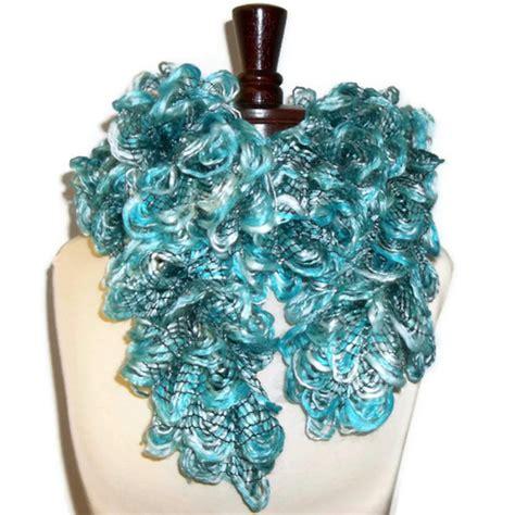 quot seaside fluff quot ruffled scarf