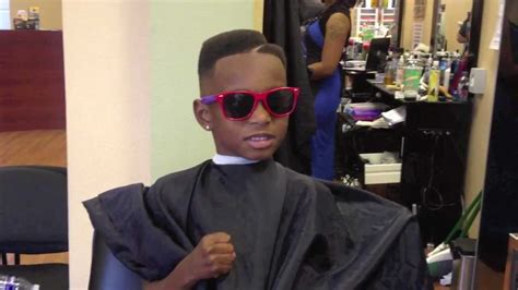 swag haircut for black boys lil boy asks barber to get swag back funny youtube