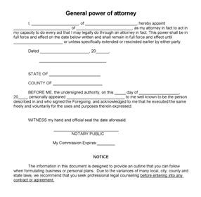Printable Sle Power Of Attorney Form Laywers Template Forms Online Pinterest Real Power Of Attorney To Sell A Car Template