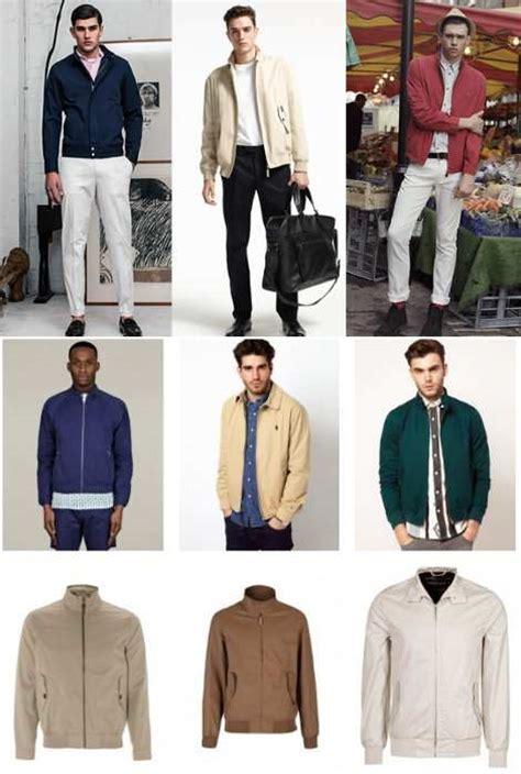 Jaket Pria Harrington Inalcafa Biru bikin kaos yuk pria wajib punya 3 jenis jaket ini