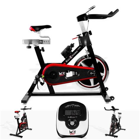 Spinning Bike Sport Hitam Merah we r sports aerobic cycle review fitness review