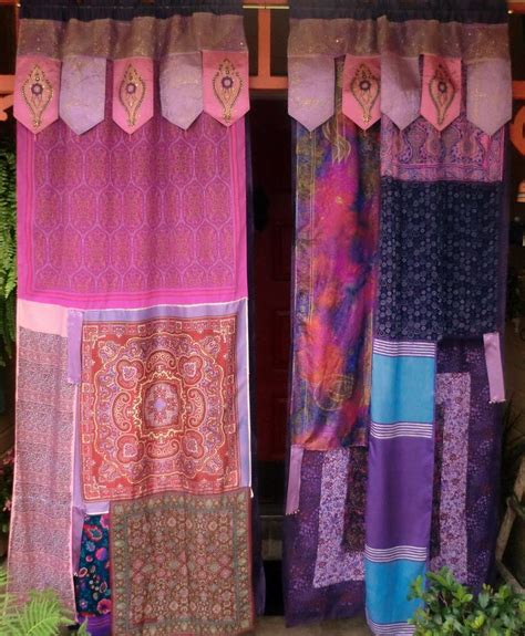 Bohemian Style Curtains Arabian Nights Handmade Curtains Bohemian Hippie Global Style