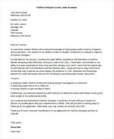 cover letter fashion design designer cover letter 9 free word pdf format