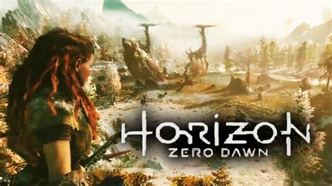 Diskon Ps4 Horizon Zero New horizon zero e3 2015 gameplay trailer sony