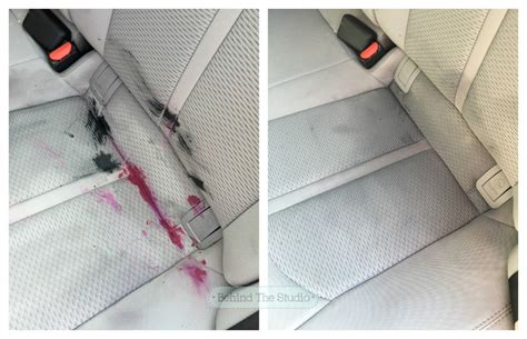How To Remove Crayon From Car Upholstery by That Time I Had To Clean Melted Wax Crayon From The Car Upholstery The Studio