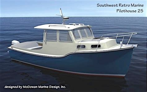 recreational trawler boats southwest 25t