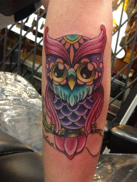 my new owl tattoo inlove tattoos inked pinterest