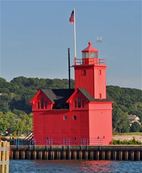 Harbor Light Mi by Lighthouses Of The U S Michigan S Western Lower Peninsula
