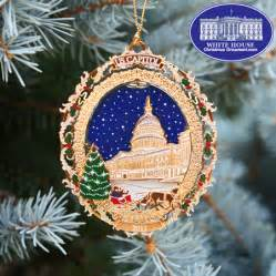 2011 u s capitol holiday tree amp carriage ornament