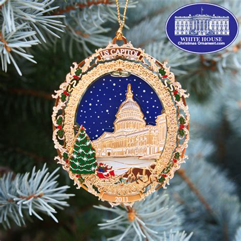 sacramento capital christmas decorations 2011 u s capitol tree carriage ornament