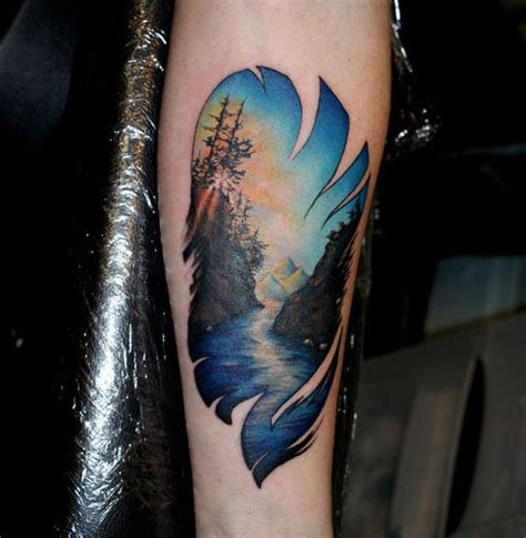 27 lush nature tattoos creativefan