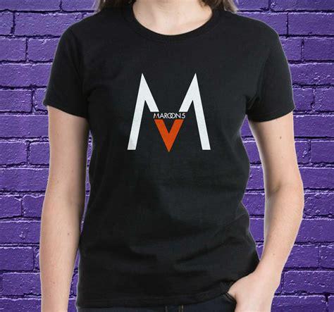 T Shirt 5 maroon 5 shirt black white maroon 5 tshirt best