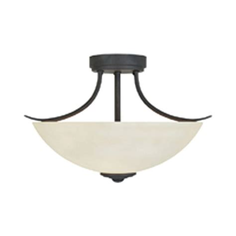 bronze semi flush ceiling light designers montreal 2 light rubbed bronze