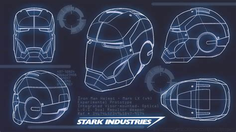 iron man blueprint by collection 13 wallpapers