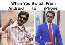 Image result for iphone vs android meme