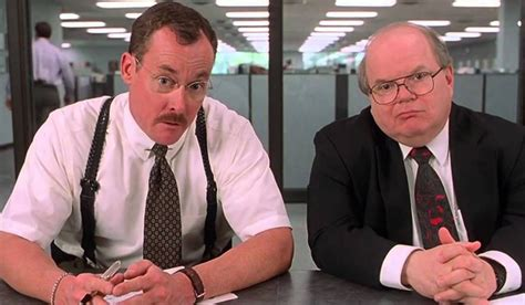 Office Space C Mcginley Tgi Fridays Got Rid Of Flair Because Of Office Space