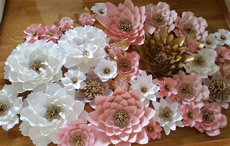 rose themed paper paper flower backdrop baby shower backdrop princess theme