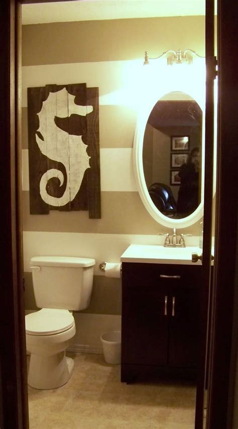 seahorse bathroom cute bathroom powder room beach house guest bathroom