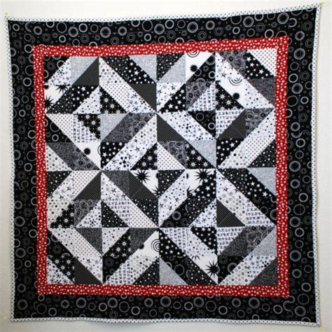 black and white baby quilt pattern black white and red baby quilt minkee backing