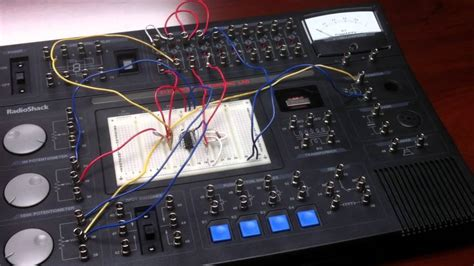 radioshack electronics learning lab review youtube
