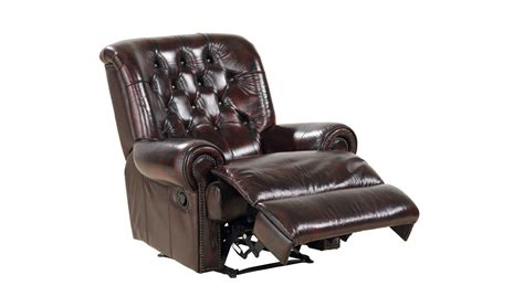 Yorkshire Leather Recliner Spencer Tub Furniture House