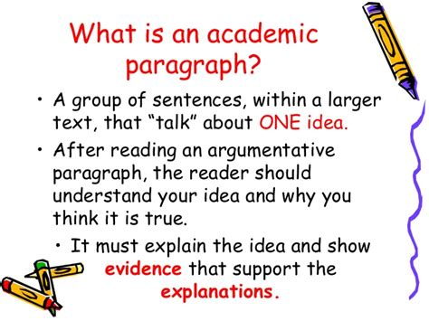 What Is A Thesis In An Essay by Academic Paragraph And Essay Writing Rosmery Bolivia