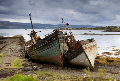 old boat pics old boats isle of mull by damiankane on deviantart