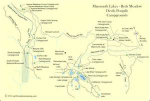 lakes cground mammoth lakes