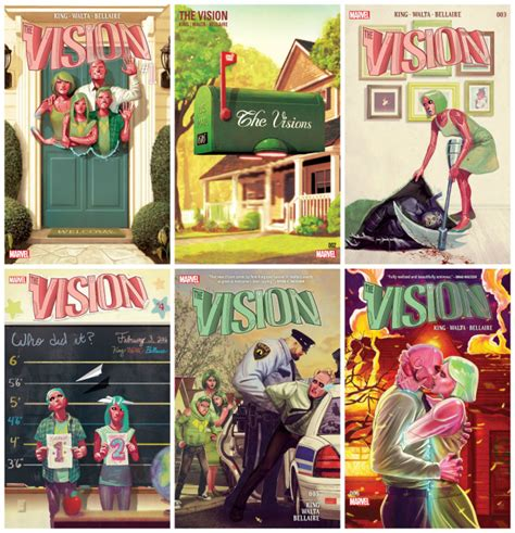 vision vol 1 little the vision by tom king and gabriel h walta project fandom