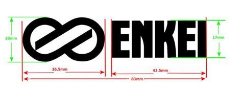 dsm mitsubishi logo evo8 enkei decal dimensions dsmtuners