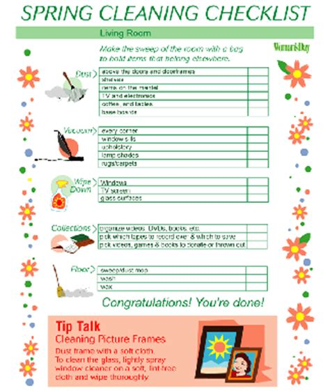 spring cleaning checklist room by room spring cleaning checklist spring cleaning tips for entire
