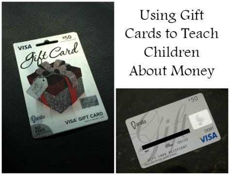 How Much Is On My Vanilla Mastercard Gift Card - using gift cards to teach children about money bullock s buzz