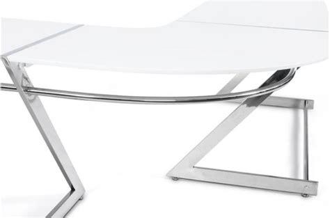 Bureau Laque Blanc Pas Cher Maison Design Modanes Com Bureau Laqu Blanc