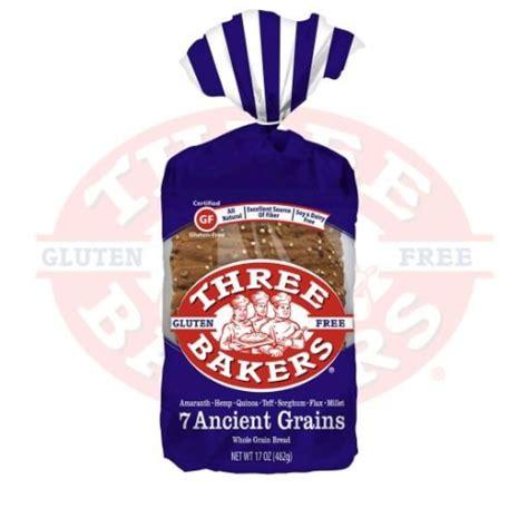7 whole grain bread 7 ancient grains whole grain bread three bakers