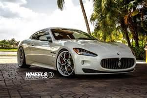Maserati Tuning Maserati Gran Turismo Forgiato Wheels Tuning White