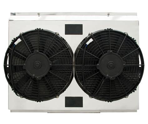 dual electric fans with shroud custom fan shroud dual spal electric fan