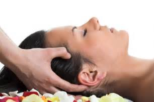 Head massage is based on a traditional form of champi head massage
