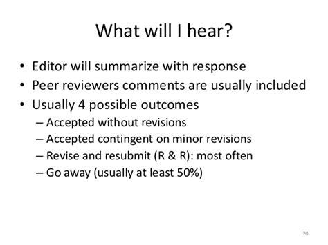 revise and resubmit cover letter research from ideas to publication