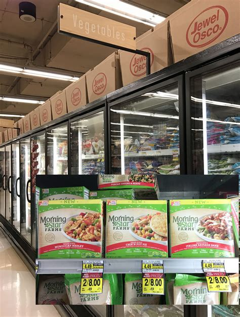 frozen food section plant based diet made easier with morningstar farms