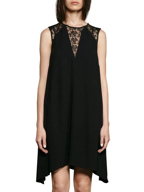 french connection drape dress french connection hennessy drape dressblack round neck dresses 16351841