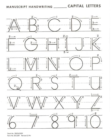printable alphabet exercise letter practice for basic handwriting kiddo shelter