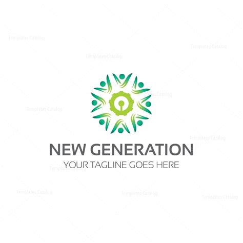 templates for logos new generation logo template 000194 template catalog