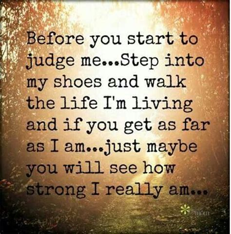 a mile in my own shoes based on a true story rosmond story books before you judge me quotes quotesgram