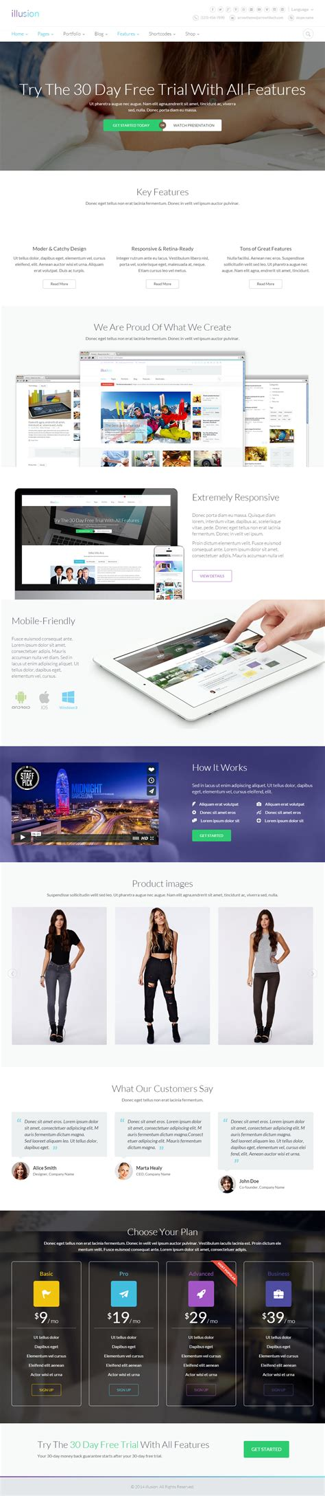 drupal theme landing page best responsive drupal landing page themes in 2014