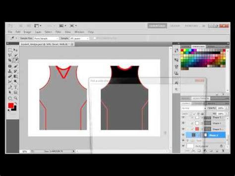 basketball jersey layout maker ps vid making your own basketball jersey design youtube