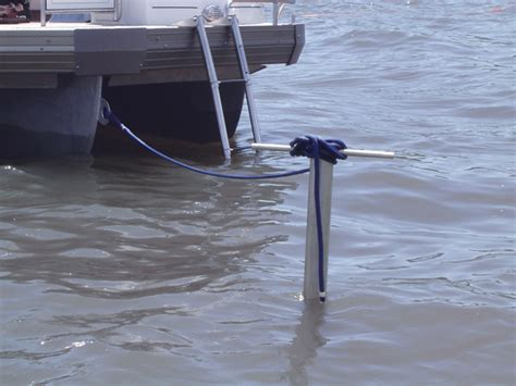 shallow water anchor for pontoon boat pgf welding fabrication gallery marine